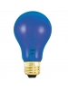 25W - Transparent Blue - A19 - 130V - Medium Base - Symban