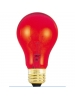 25W - Transparent Red - A19 - 130V - Medium Base - Symban