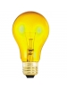 100W - Transparent Yellow - A19 - 130V - Medium Base - Symban