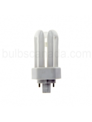 32W Triple Tube 4 Pin GX24q-3 Base 4100K CFL - Major Brand ( Philips / Sylvania / GE )