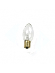 7W - C9.25 - Clear - Intermediate E17 Base - 120V- Symban