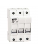Lovato FB01G3P - Class CC Fuse Holder - 3 Poles 600V 30A - 10x38 - Pack of 4