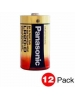 Panasonic LR20XWA/C - 1.5 Volts - D Size - Industrial Alkaline Battery - 12 PACKS