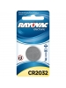 Rayovac KECR2032-1 - Lithium Coin Battery - 3 Volt - For Keyless Entry and Remote Controls - CR2032 Size - 1 Pack
