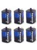 Panasonic PM4FD - 6V Heavy Duty Lantern Battery - Spring Terminal - 6 PACKS