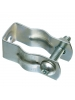 Arlington 2025 - 2-1/2'' to 3'' Pipe Hangers (with Bolt and Nut) - Plated steel - 100 Packs