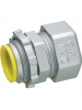 "Arlington 820A - 1/2"" EMT Compression Connectors with Insulated Throat - Zinc die-cast - 50 Packs"