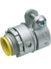 "Arlington L4210A - 4"" Squeeze Connector with Insulated Throat - 4.030 - 4.635 Cable Range - Zinc die-cast"