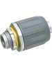 Arlington LT10 - SNAP2IT Connector for Liquid-Tight Conduit - Push-On Installation - 1-Inch - Zinc - 5 Packs