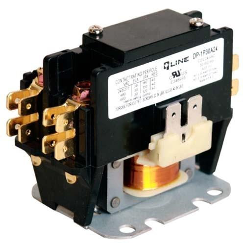 Rotom DP-2P30A24 - 2 Pole 30 Amp - 24 Volt Coil Voltage