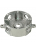 "VISTA 20065 - Round Weatherproof Metal Box 5 x 1/2"" holes - Grey"