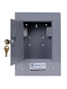 Intermatic 2T308A - Standard Steel Flushmount Enclosure with Lock - NEMA 1 Rated - Gray Finish