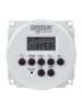 Intermatic FM1D14-12U - 24-Hour/7-Day Electronic Time Switch - 1 Circuit - SPDT 15 Amp - 14 Programs - Panel Mounting - 12 VDC