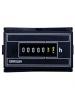 Intermatic Grasslin FWZ55-120U - AC Hour Meter - Flush Mount - Combo Quick Connect & Screw Termnials - 120V 60Hz