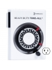 Intermatic HB113 - Mechanical Plug-in Timer - Heavy Duty Appliances - 24 Hour - 3-prong Grounded Plug and Receptacle - 2500 Max. Wattage - 120VAC