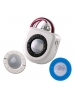 Leviton 35430 - 022-OSFHU-ITW - High Bay/Low Bay Passive Infrared Occupancy Sensor with 3 Lens - 120-347VAC - White Color