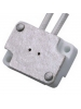 "Rectangular Socket w/ 12"" Leads for G8.0 Base"