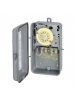 Intermatic T104-20 - Mechanical Water Heater Time Switch - NEMA 1 Indoor Steel Case - DPST - 10000 Watts - 40 Amps - 208-240 Volt