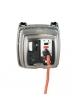 Intermatic WP1150C - Weatherproof Receptacle Cover - Single Gang - Clear - 4-3/4 in. Depth - Vertical or Horizontal