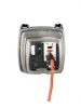 Intermatic WP1230C - Weatherproof Receptacle Cover - Two Gang - Clear - 3 1/8 in. Depth - w/ Flexi-Guard Inserts