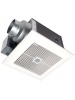 WhisperWelcome™ 50 CFM Ceiling Mounted Ventilation Fan with Low Profile Housing Design - Panasonic FV-05VFM2