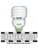 13W Shatter-Proof - T2 CFL Spiral - Warm White - Medium Base - Greenlite