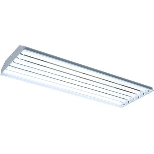 12 T5 6 Lamp Fluorescent High Bay Light Fixtures: 6 Lamp 347V T5HO Fluorescent High Bay