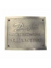Danfoss 088L3405 - GX Snow Melting Nameplate (per NEC 426-13)