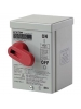 Leviton N3303-DS 30 Amp - 600 Volt - Toggle In Type 3R Enclosure Three-Pole - Industrial Grade - Grounded To Enclosure - Gray