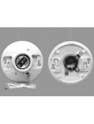 LH-C24 Porcelain Ceiling Medium Base Receptacle with Pull Chain Switch