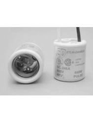 SC-6003 Medium Base 4KV Pulse Rated Lampholder