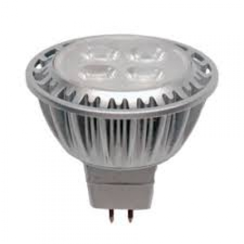 Mr16 Wide Flood: 5W 12V MR16 4000K Wide Flood LED Lamp-Liteline