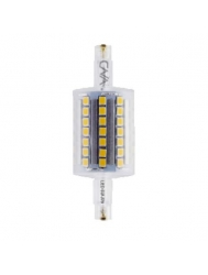 CNA - LED 5W J78mm - 4100K Cool White - 450 Lumen - 120VAC - R7s Double Ended Base - Replace Traditional Halogen 75W Lamp