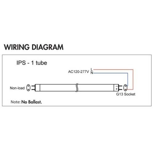 emergency fluorescent light circuit diagram images simple philips led tube light circuit diagram lighting 18 watt 4ft