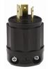 Leviton 2611-PLC - Locking Plug - 30 Amp - 125 Volt - NEMA L5-30P - Industrial Grade - Black-White