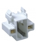CFL 5 - 13W Horizontal Snap-In Socket - GX23