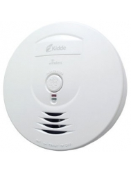 kidde 900 0201 003 wireless and interconnected smoke alarm with hush operated by 3 aa batteries. Black Bedroom Furniture Sets. Home Design Ideas