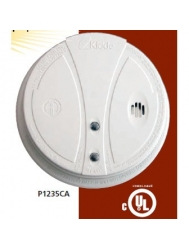 kidde p1235ca smoke alarm with hush button test button ionization techn. Black Bedroom Furniture Sets. Home Design Ideas
