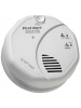 BRK SC7010BA - Photoelectric Smoke and Carbon Monoxide Alarm - Detects Flaming Fires and CO Hazard - 120V Wire-in with 2 AA Battery Backup - Interconnectable