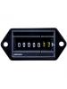 Intermatic Grasslin FWZ53-120U - AC Hour Meter - Flush Mount - Combo Quick Connect & Screw Termnials - 120V 60Hz