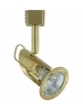 Liteline MN1270-BB-120V-MR - MILANO Brushed Brass Track Fixture - GU10 Base - 50W Max.