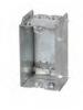 """VISTA -20146-   2 1/2"""" Deep JUMBO Box - 1 Gang w/Nailing Loop & Clamps"""