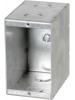 "VISTA -20275-3 3/8"" Deep Non gangable Masonry Box w/kockouts"