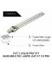 Vortex ADA HS Hand Dryer - UVC LAMP & FILTER KIT