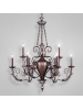 Eurofase 16527 - Charington - 9 LIGHT CHANDELIER - Bronze - E12 Bulb - 120V