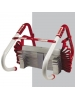 Kidde 468095 - Two Storey Home Emergency Escape Ladder - 13 Foot Height - Holding Weight 900 Lbs - Red Color