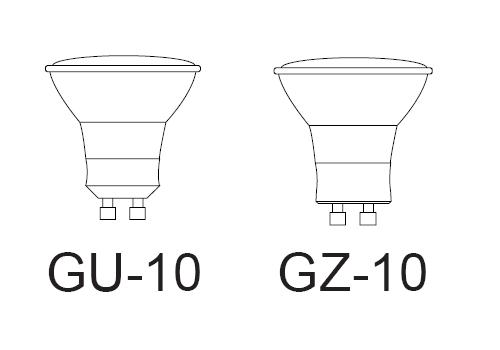 gu10 socket c  w 12 u0026quot  leads